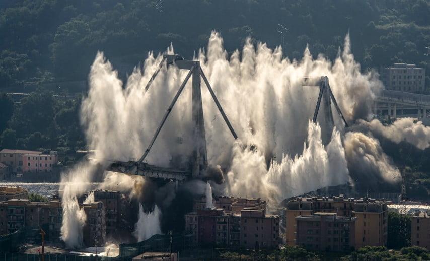 Il dolore nel cuore di Genova
