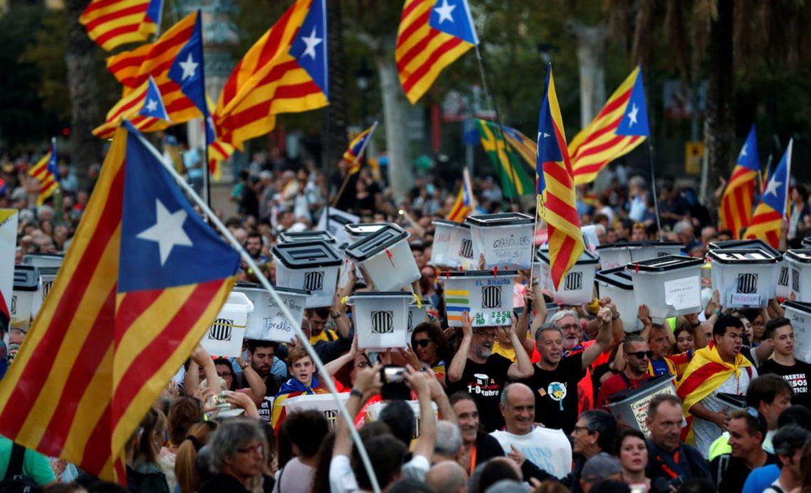 Catalogna in rivolta