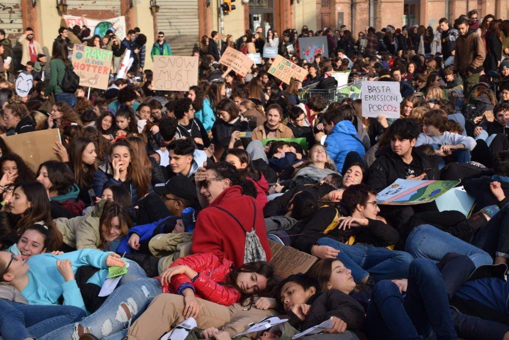 Corteo Block Friday, Friday For Future del 29 novembre 2019 Bologna