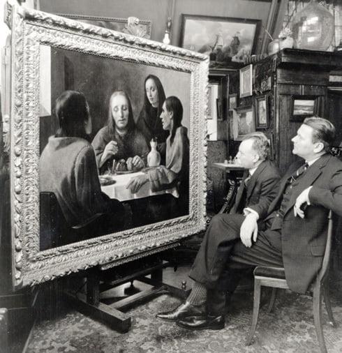 Han van Meegeren quadro
