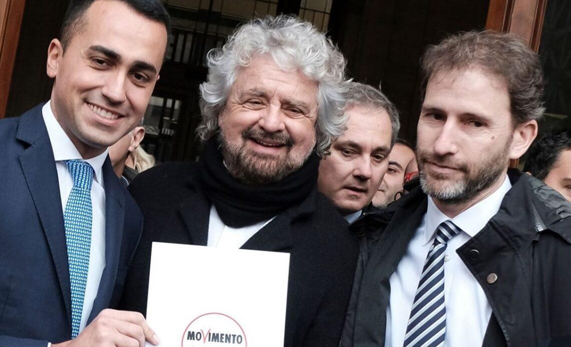 Rousseau Di Maio Grillo Casaleggio