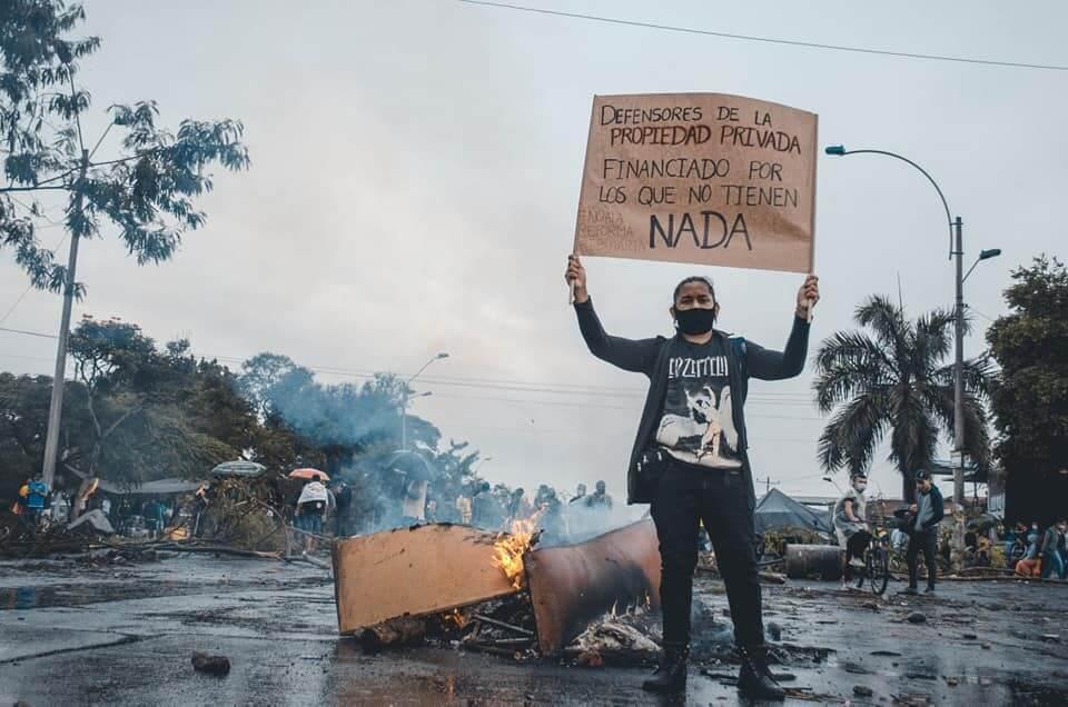 Proteste e repressione militare in Colombia